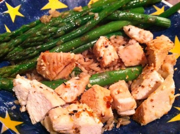Chicken-asparagus