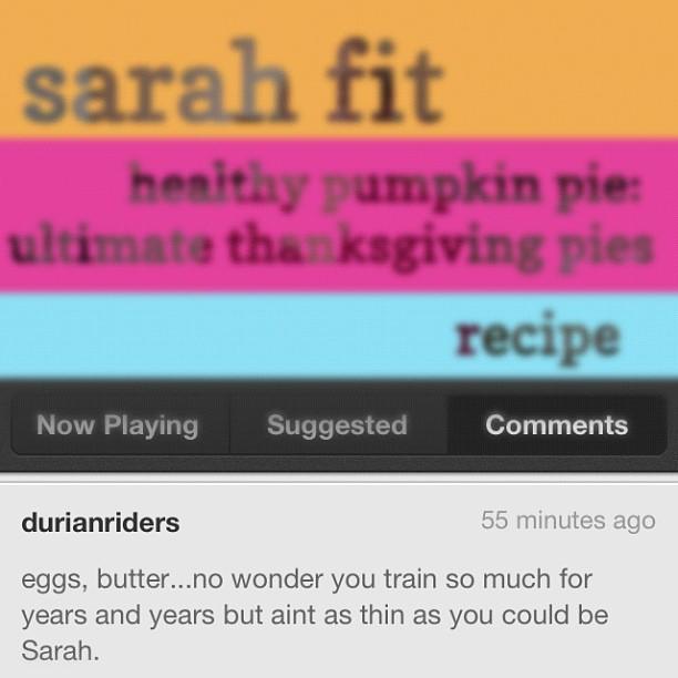 @SarahFit Instagram