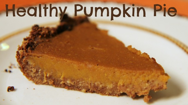 Ultimate Thanksgiving Pie: Healthy Pumpkin Pie | Sarah Fit