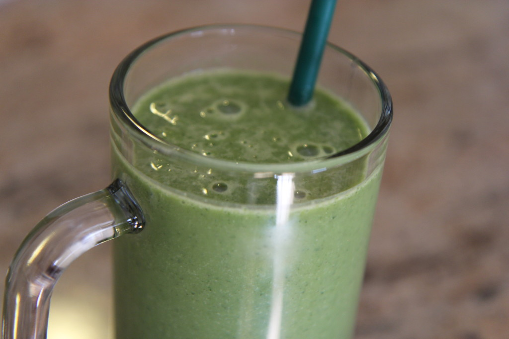 Long and Lean Green Smoothie