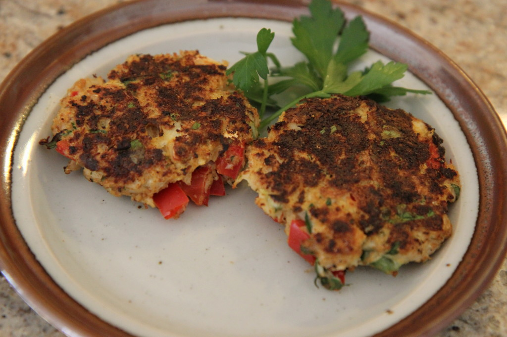 Maryland Crab Cake Superbowl Recipe | Sarah Fit