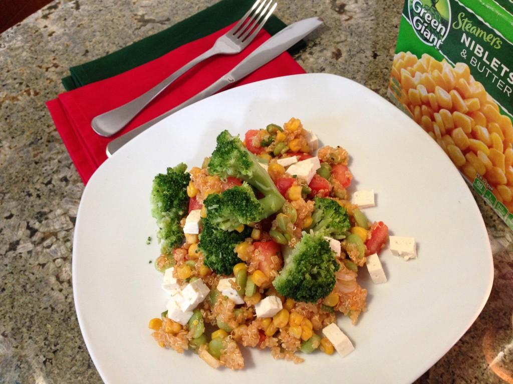 Quinoa Succotash Meal