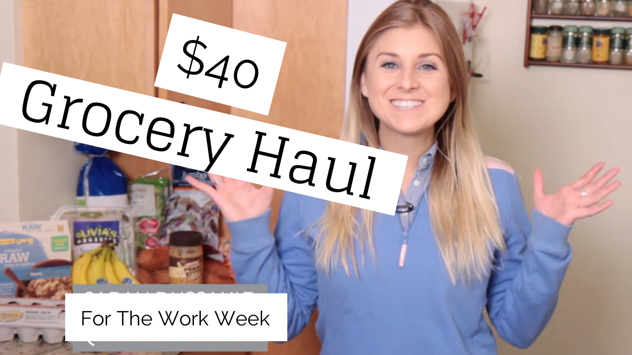 Healthy Cheap Grocery Haul Trader Joe's
