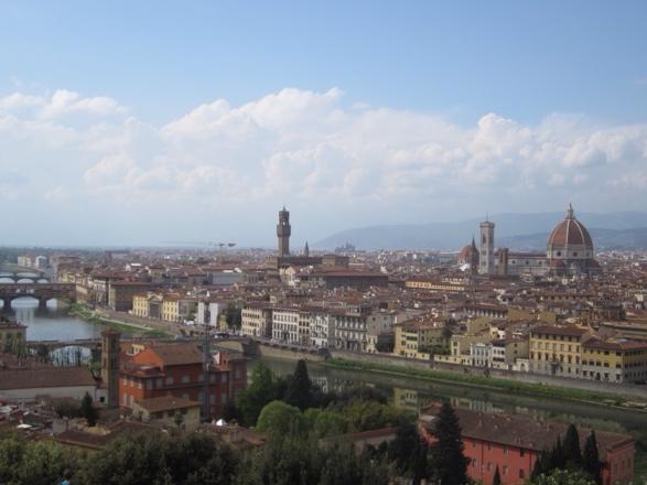 Lake Como and Florence