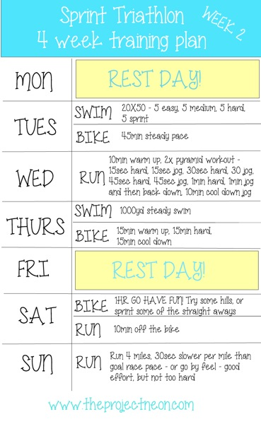 Week 2 sprint tri plan projectneon branded