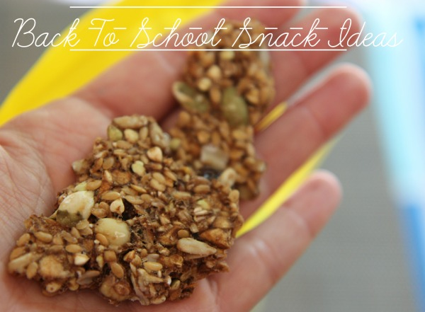 BackToSchool Snacks Ideas