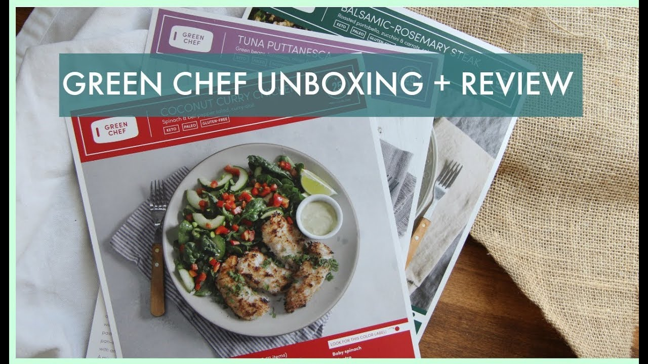 Green Chef Unboxing Video and Keto Plan Review | Sarah Fit
